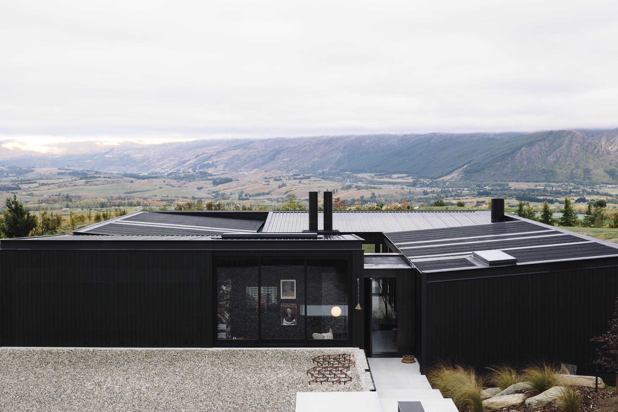 Alpine Terrace House by Fearon Hay Architects
