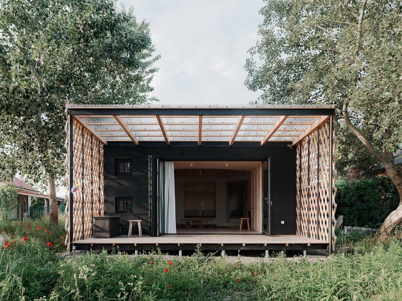Attila | Oval-Shaped Cottage by JRKVC