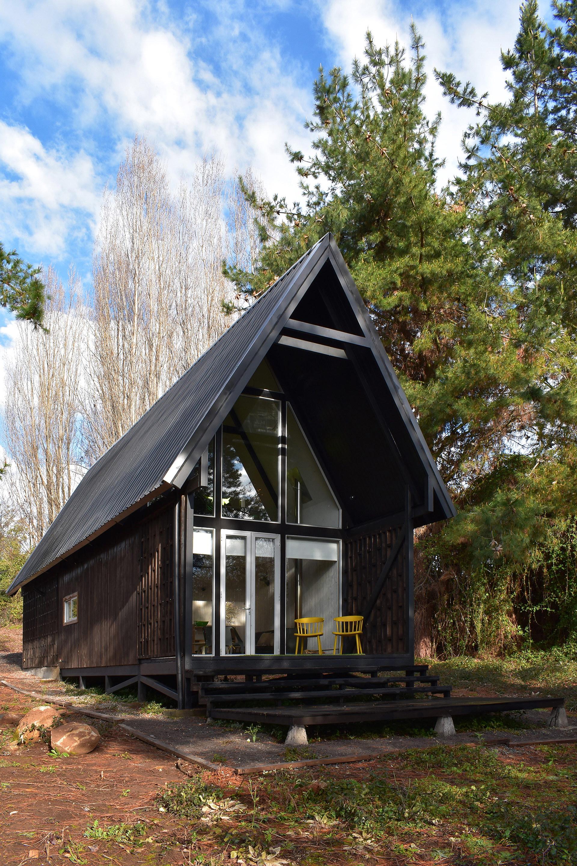 Casa R | A Mountain Refuge by Felipe Lagos