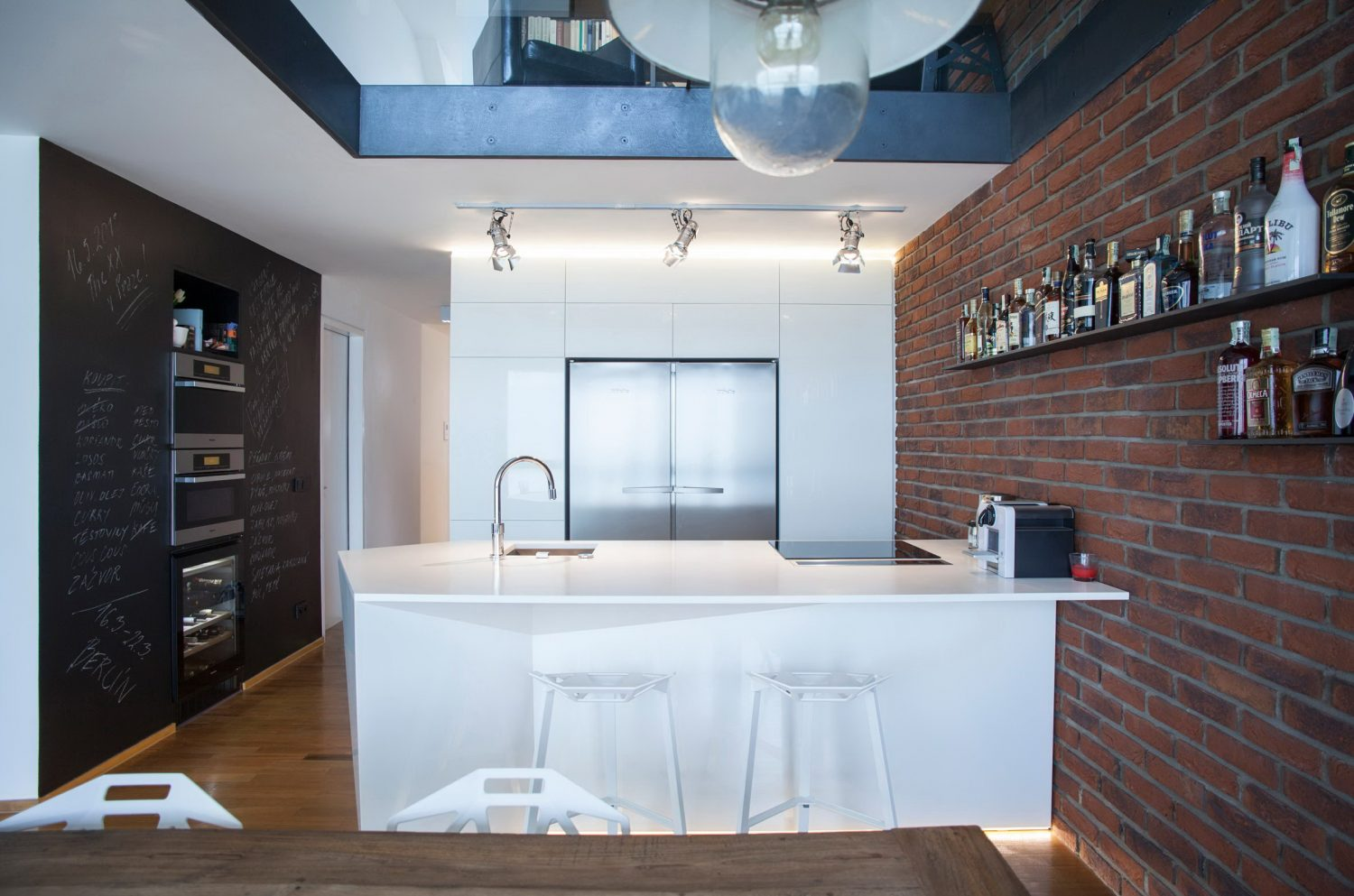 Cornlofts Triplex Reconstruction by B² Architecture