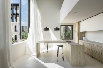 Cube Apartment V-S | Minimalist Duplex Apartment by Arjaan De Feyter