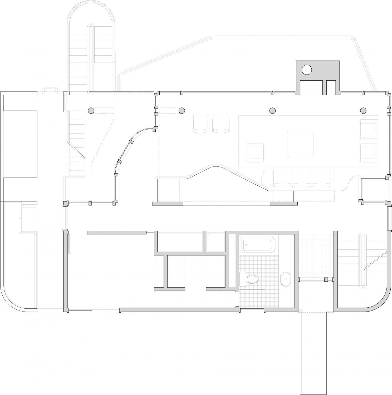 Douglas House | Modern White House by Richard Meier