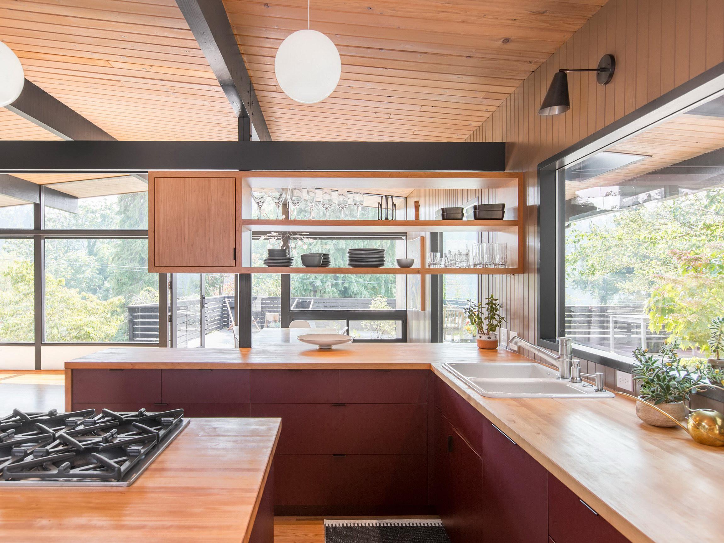 Hillside Midcentury Mid Century Modern Home Renovation