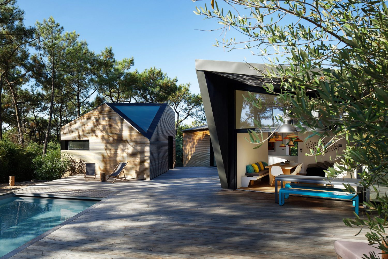 Holiday House with Swimming Pool by Atelier du Pont