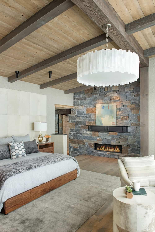 Mountain Peek Modern Rustic Home In Montana Wowow Home