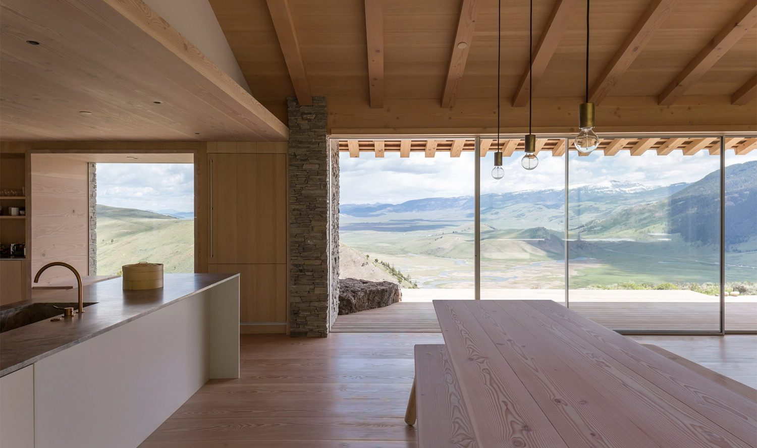 Stone House in Jackson by McLean Quinlan