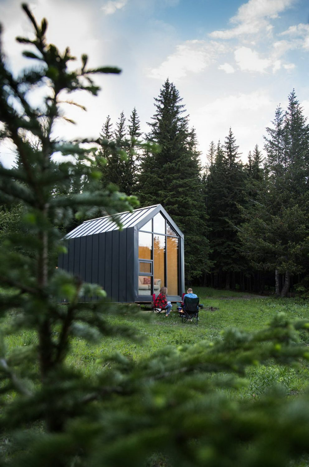 The Mono | Prefab Cabin by DROP Structures