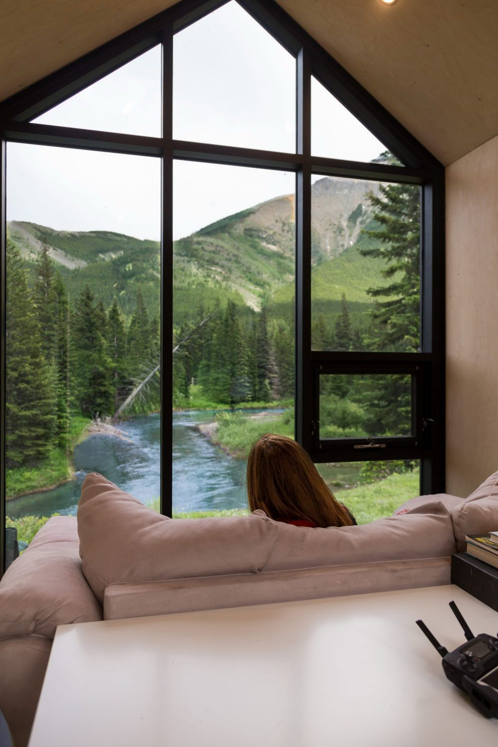The Mono   Prefab Cabin by DROP Structures