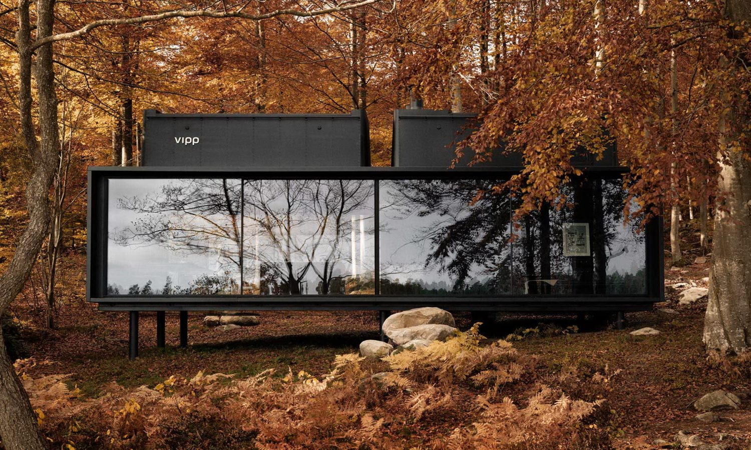 Vipp Shelter | Hotel in a Woodland Cabin by the Lake