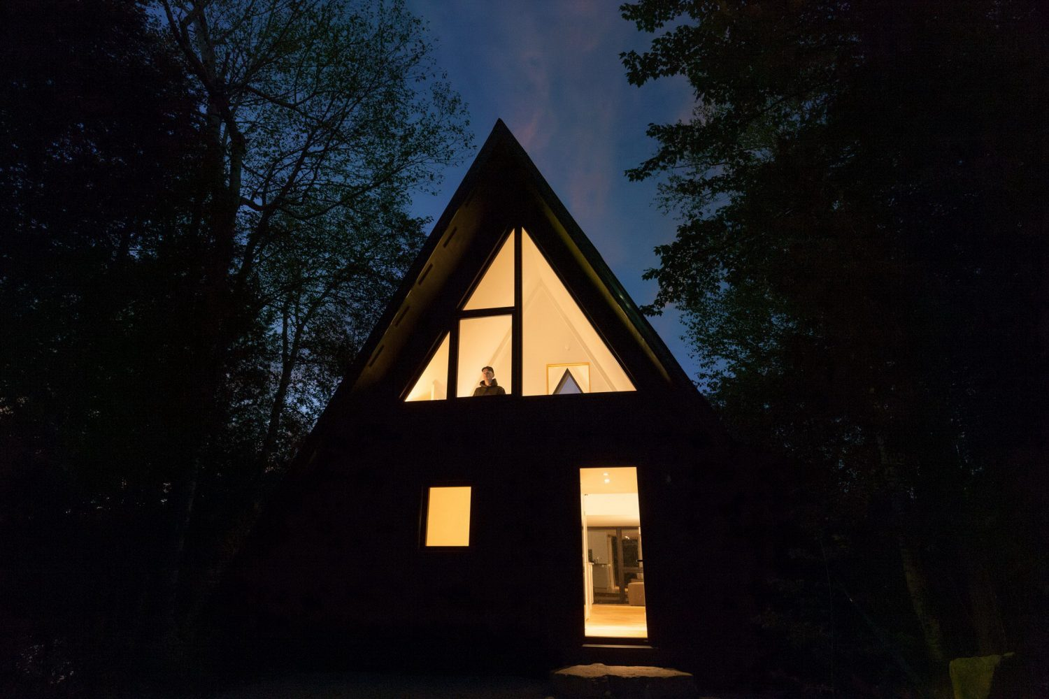 Aframe Rehab by Subtraction   A-Frame Cottage by Jean Verville