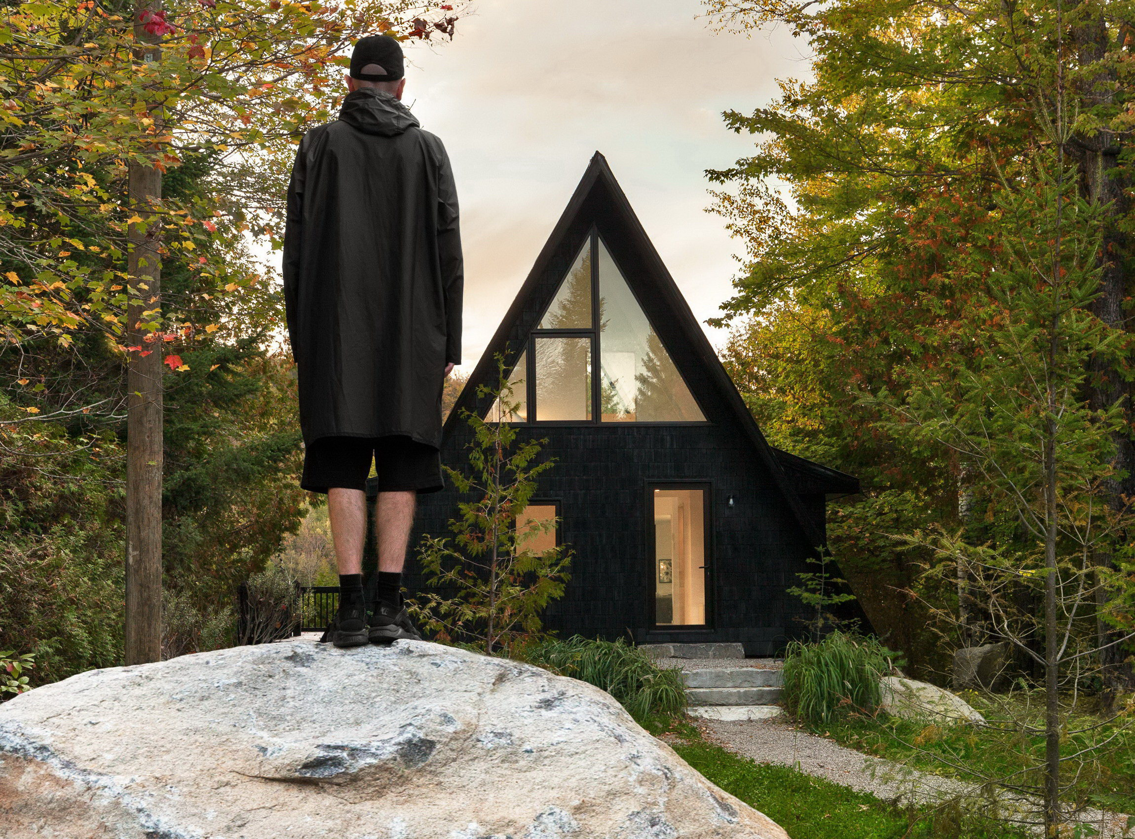 Aframe Rehab by Subtraction | A-Frame Cottage by Jean Verville