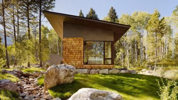 Fish Creek Compound with a Guest House by Carney Logan Burke