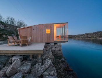 Manshausen | Glass and Timber Cabins by Stinessen Arkitektur