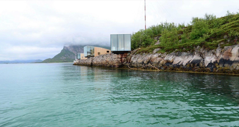 Manshausen   Glass and Timber Cabins by Stinessen Arkitektur