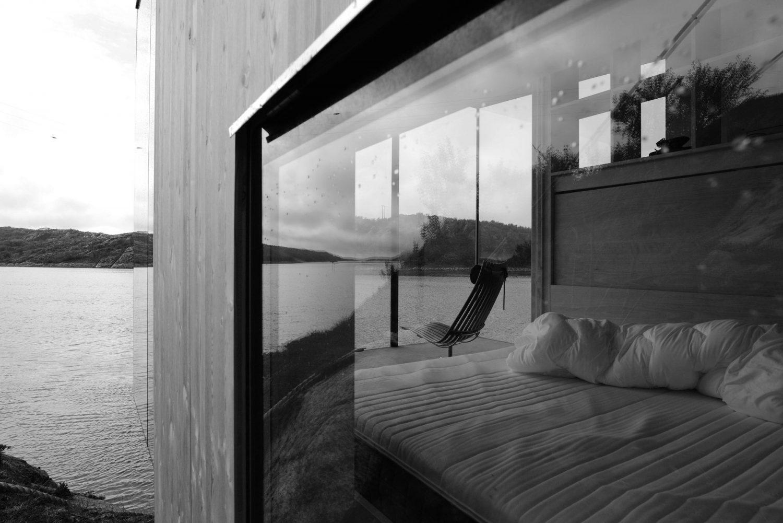 Manshausen | Glass and Timber Cabins by Stinessen Arkitektur