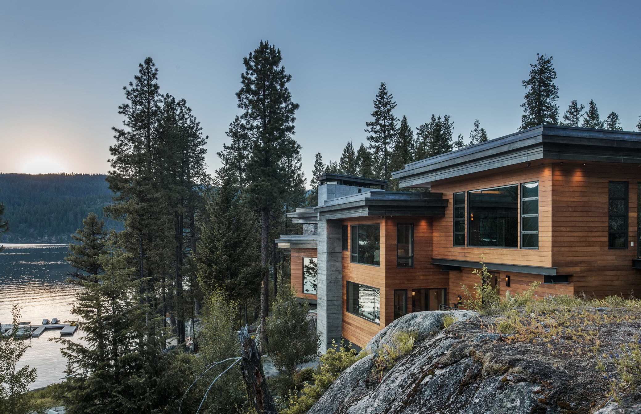 Modern Cliff House by McCall Design and Planning