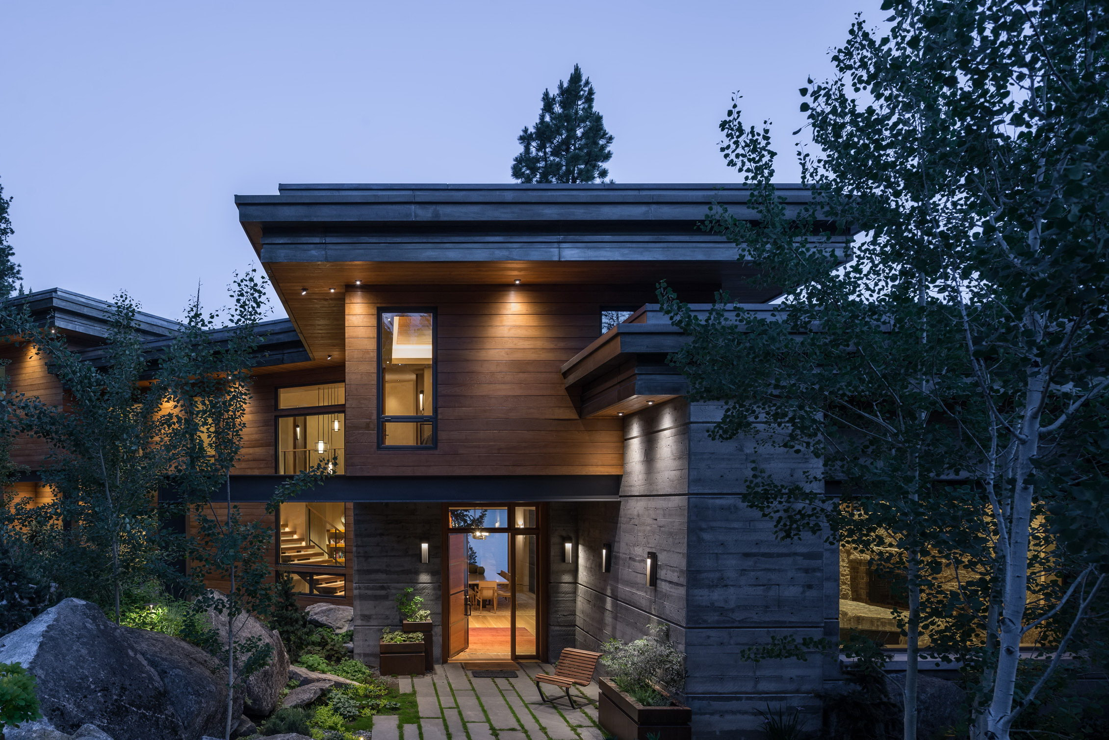 Modern Cliff House by McCall Design and Planning | Wowow ...