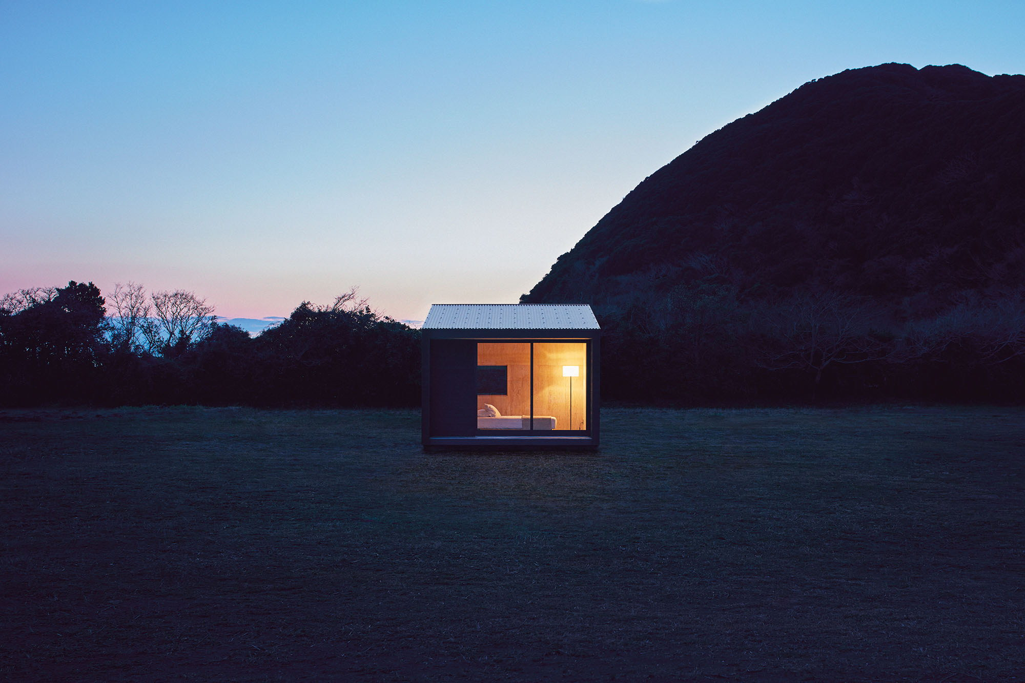 Muji Hut   Tiny Prefabricated Home