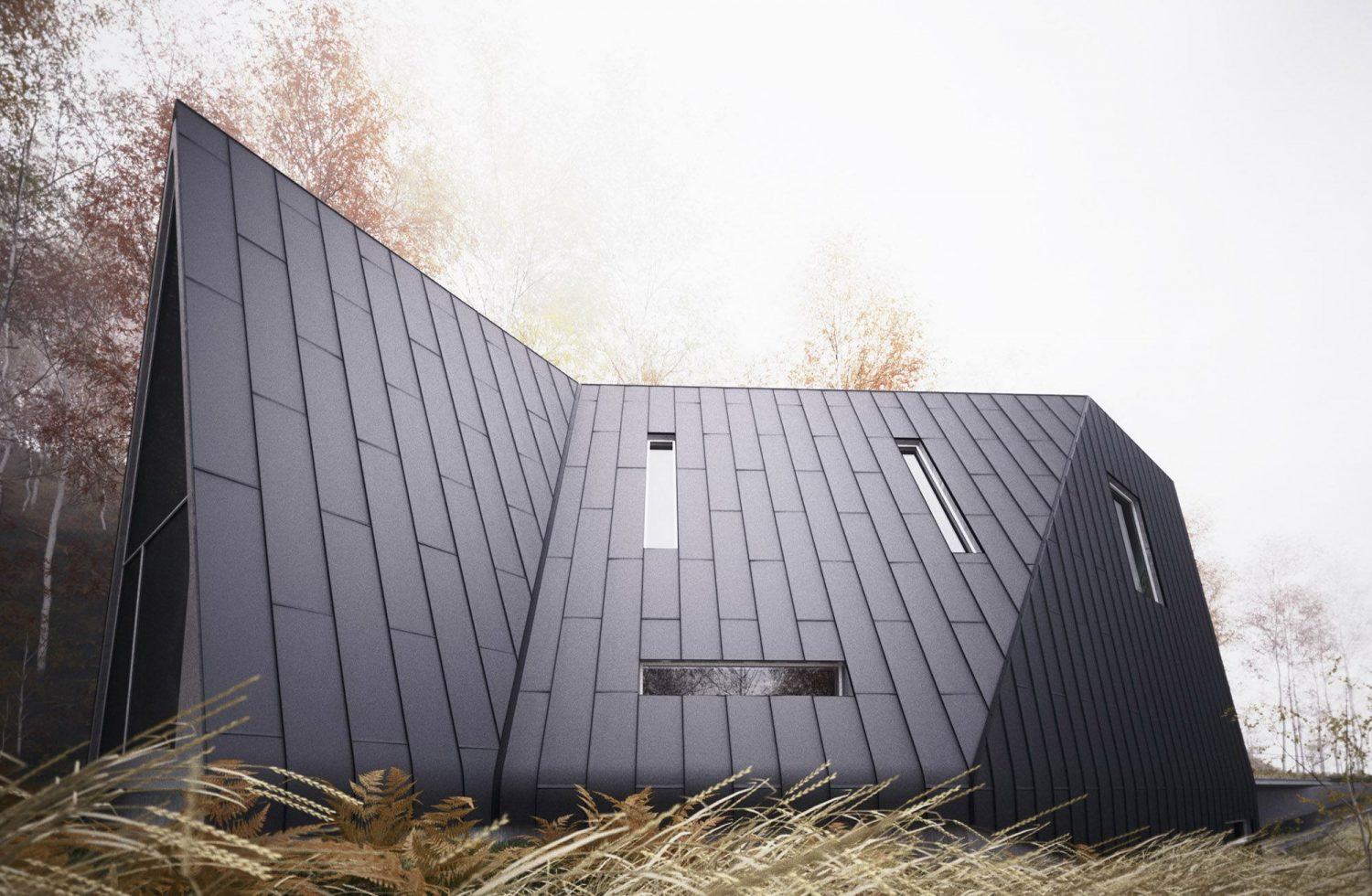 Allandale House | A-Frame House by William O'Brien Jr.