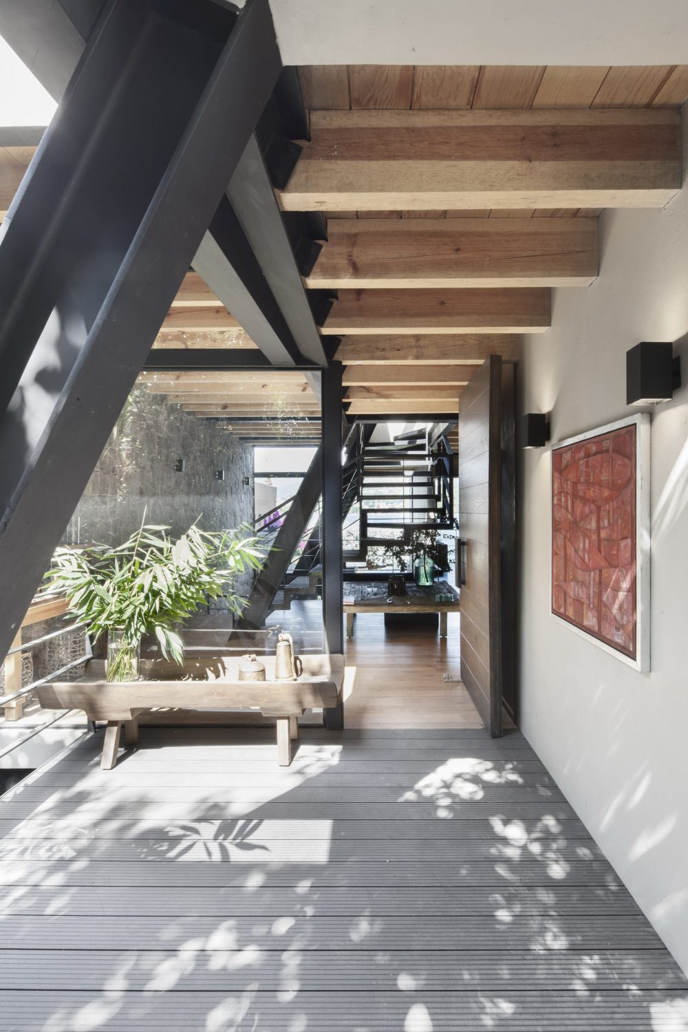 Casa A | A Spacious A-Frame House by Método