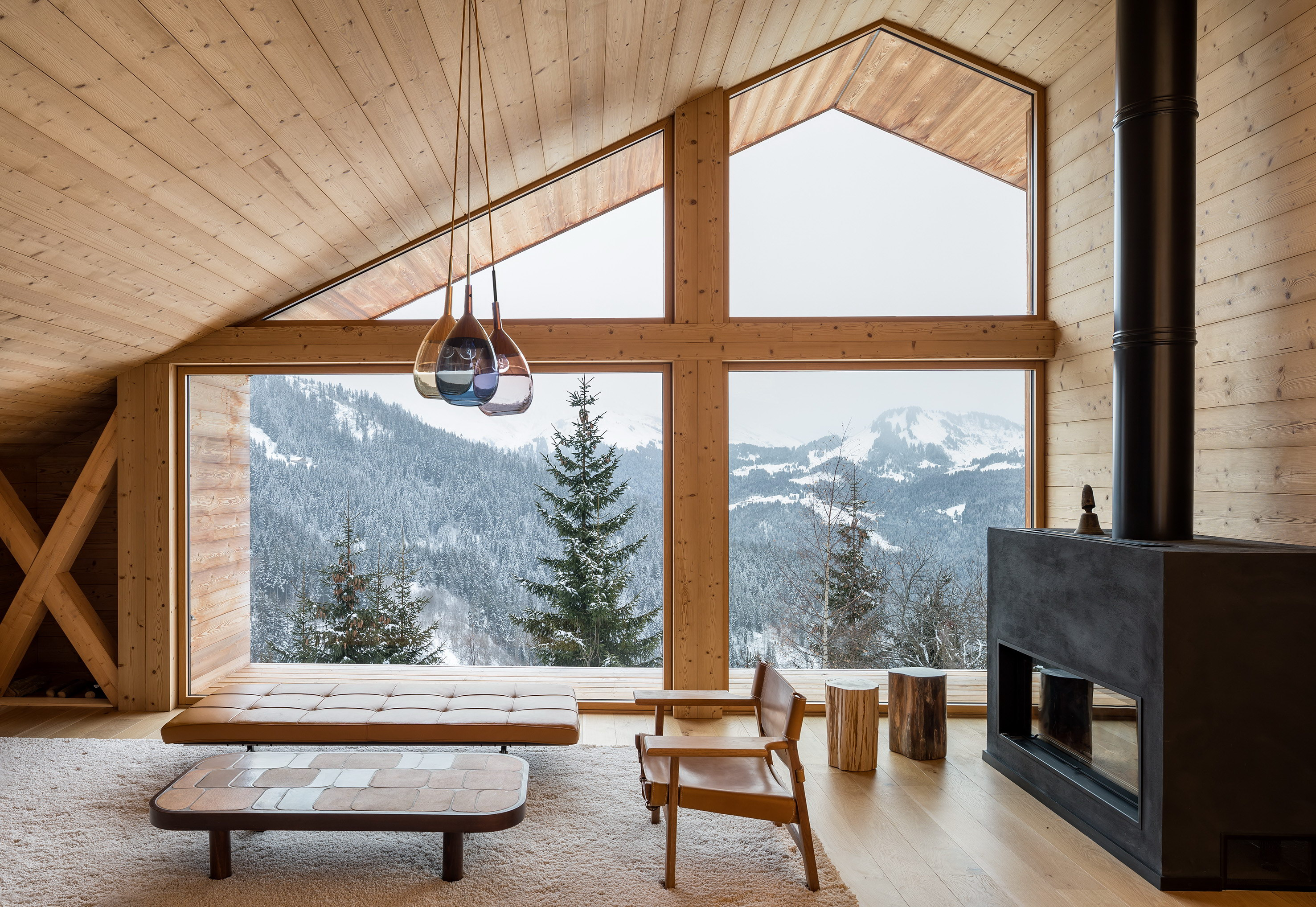 Mountain House by Studio Razavi Architecture