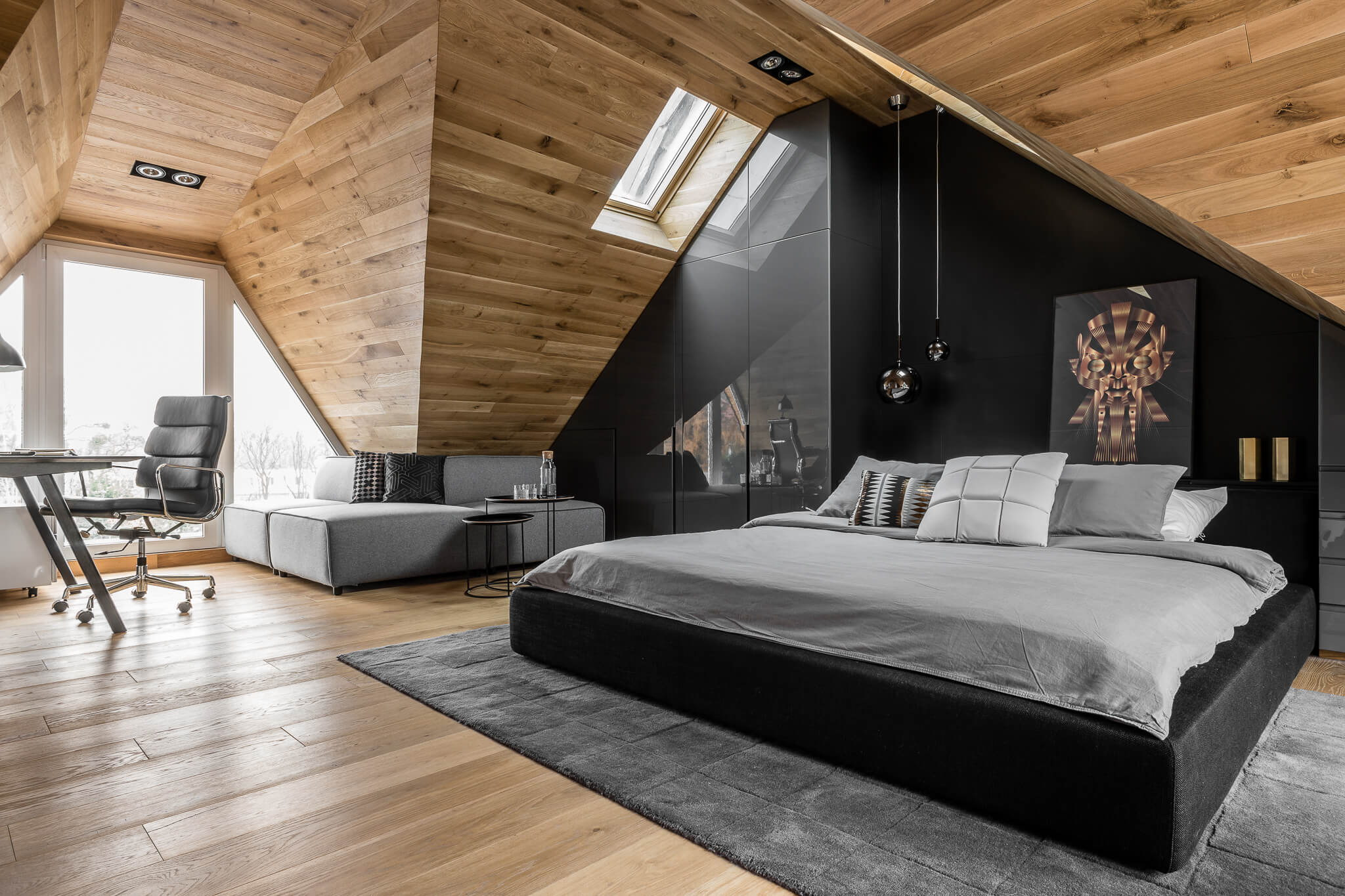 Okrezna Attic by Raca Architekci