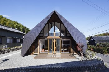 Origami House | Home with an Origami-Like Roof