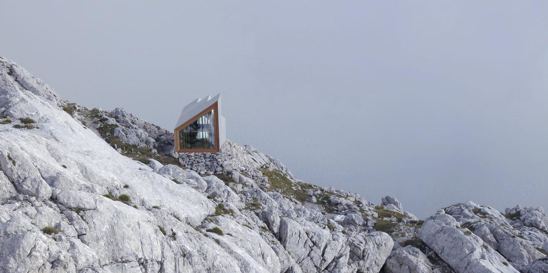 Alpine Shelter Skuta by OFIS Architects, AKT II, and Harvard GSD Students