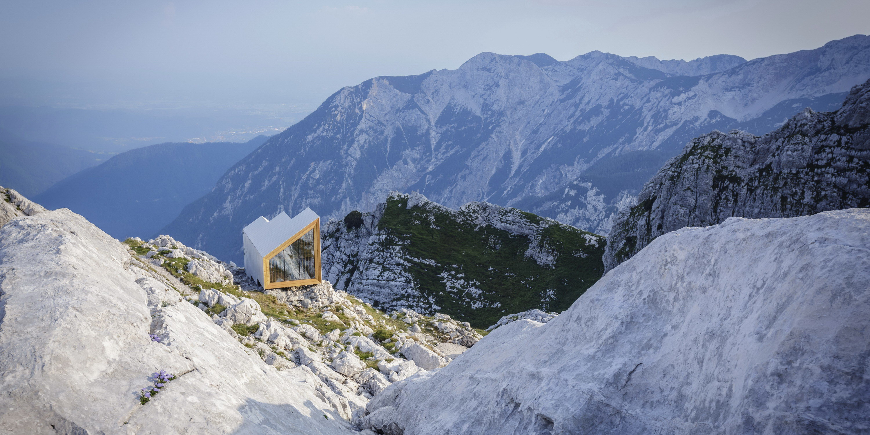 Alpine Shelter Skuta by OFIS Architects, AKT II, and Harvard GSD Students