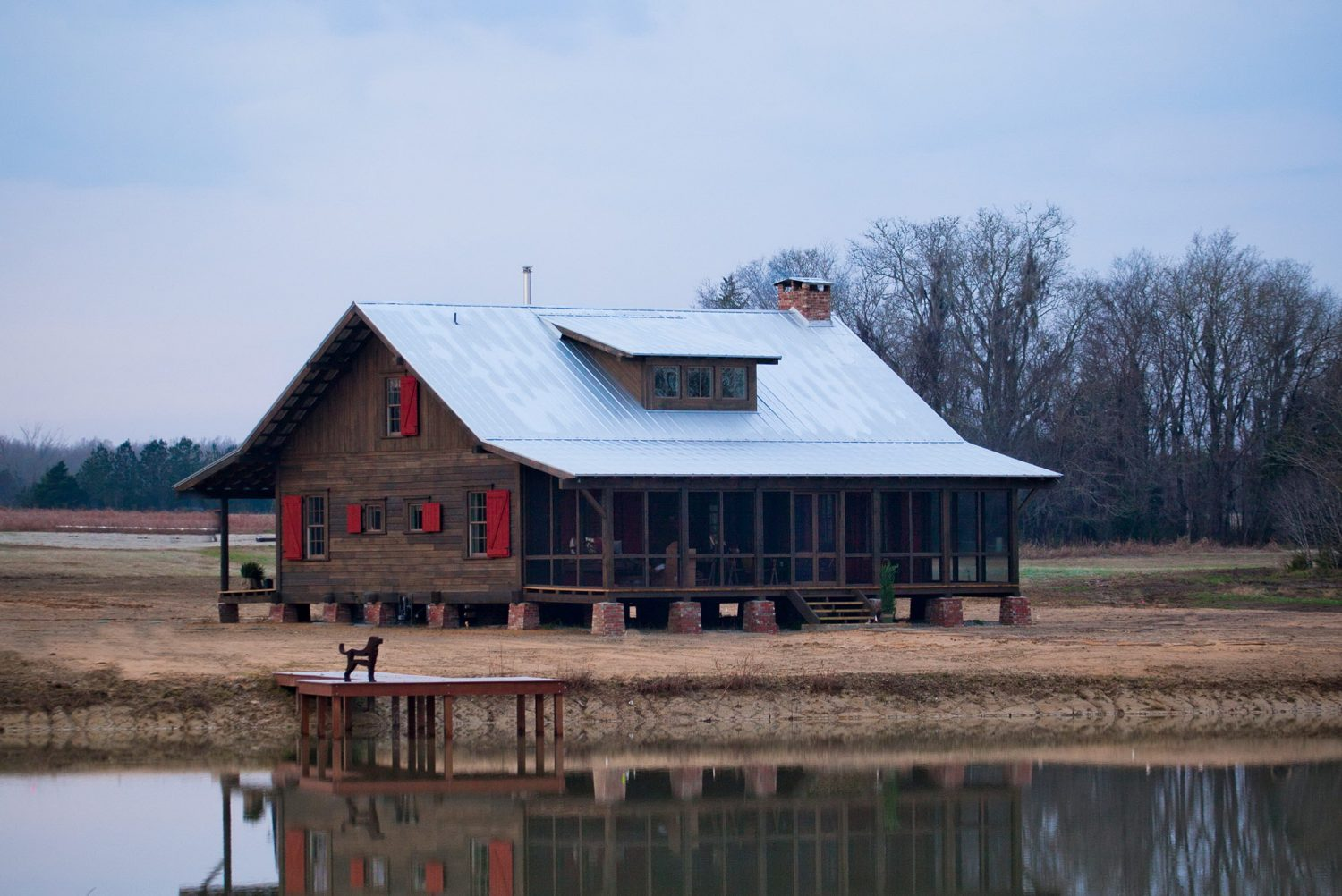 Beechwood Farm – Alabama Dogtrot Home by Summerour Architects