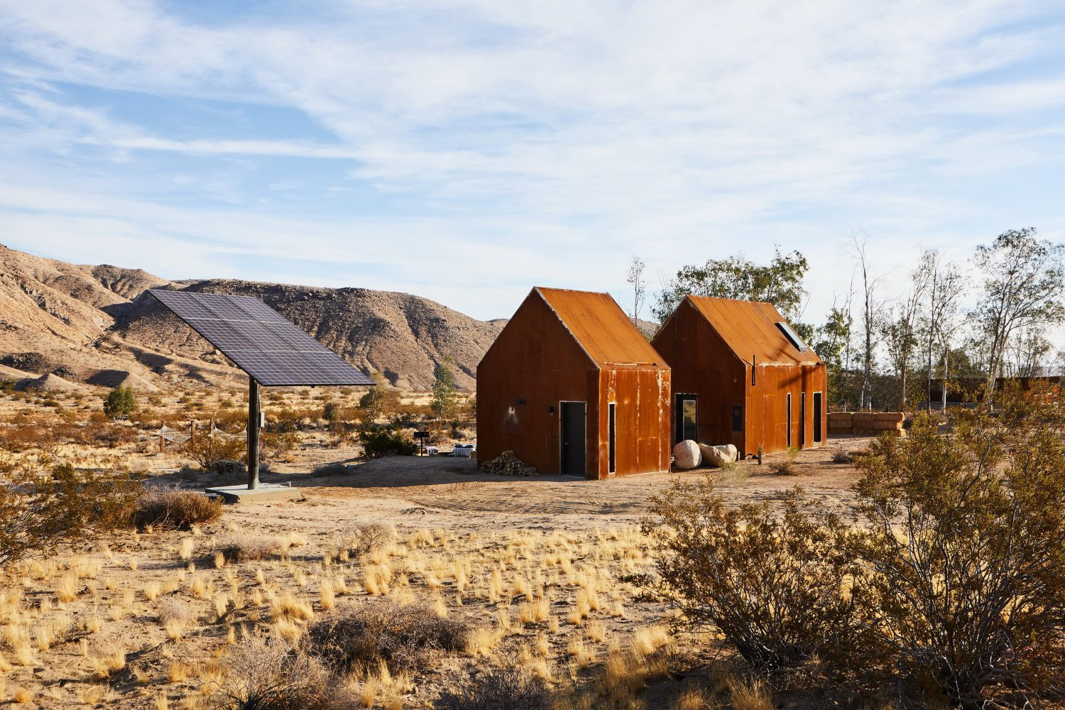Folly | Steel-Clad Cabins by Cohesion Studio
