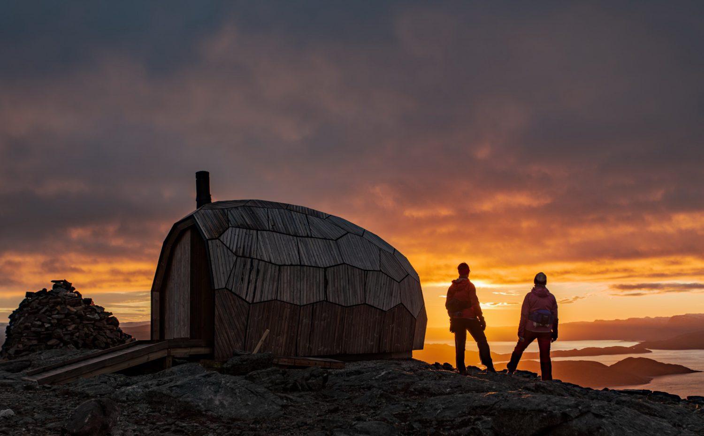 Hammerfest Hiking Cabins by SPINN Arkitekter