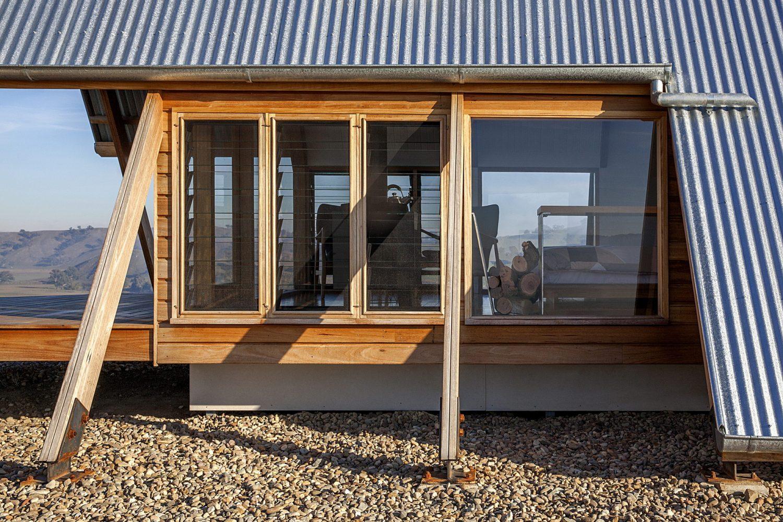 JR's Hut at Kimo Estate – Off-Grid A-Frame Cabin