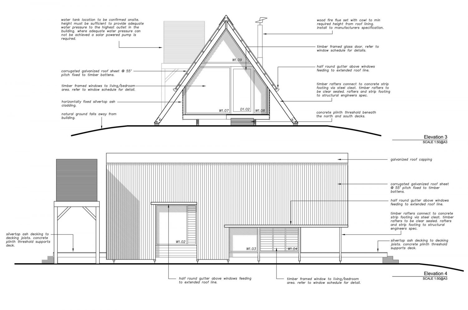 JR's Hut at Kimo Estate – Off-Grid A-Frame Cabin