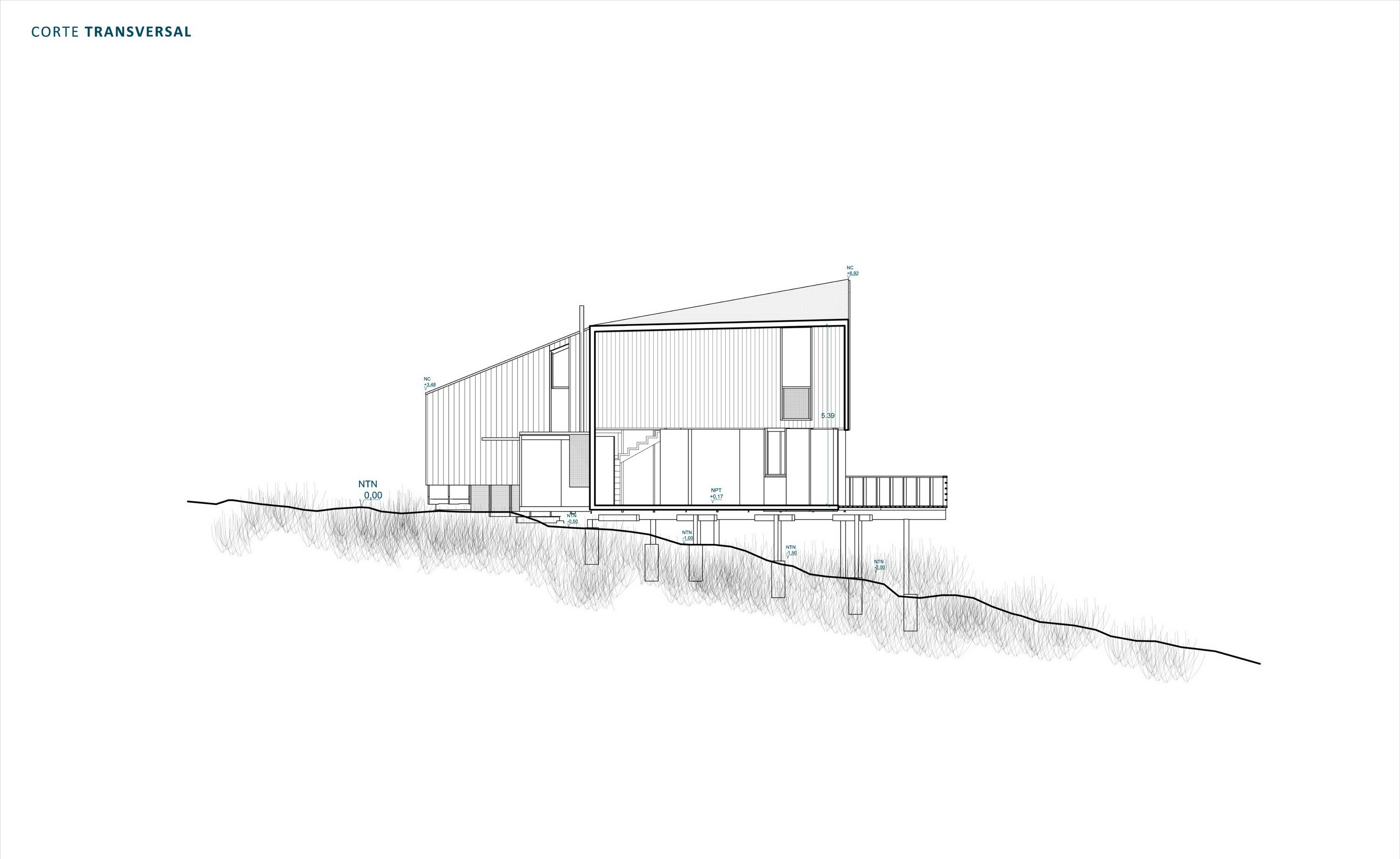 Stranded House – Clifftop Beach House by WHALE!