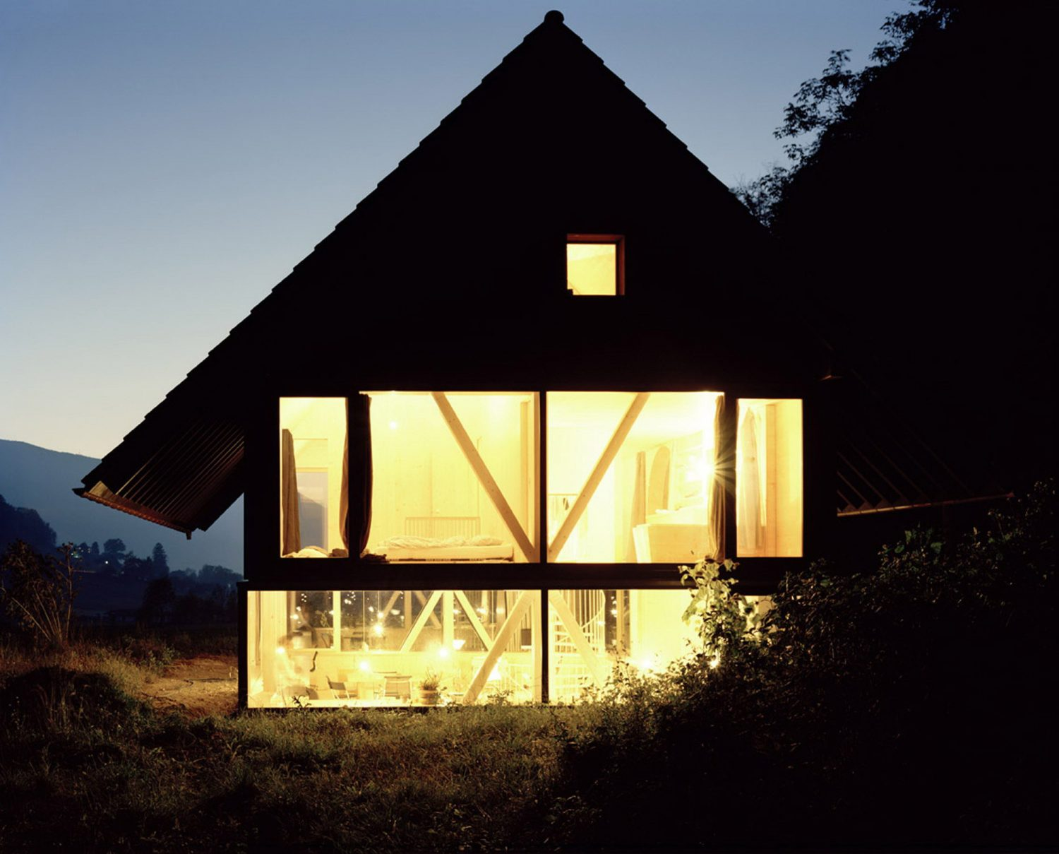 Timber House in Balsthal by Pascal Flammer