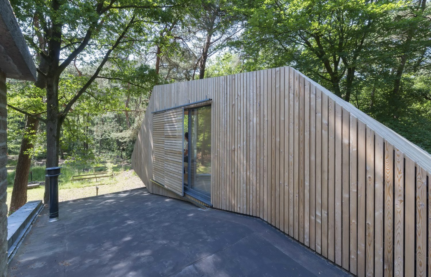 Transformation Forest House – Rooftop Extension by Bloot Architecture