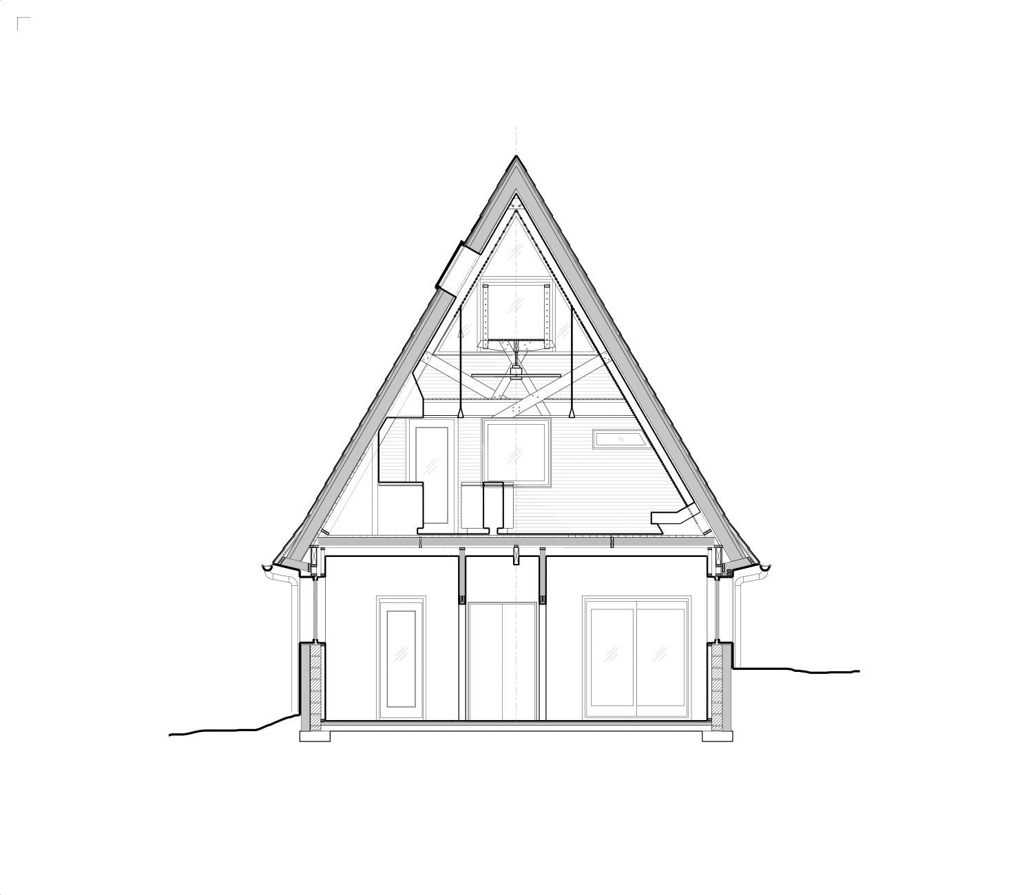 Triangle House – A-Frame Chalet Renovation