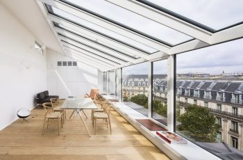 CAP – Old Photo Studio in Paris Converted into Two Prestigious Duplexes