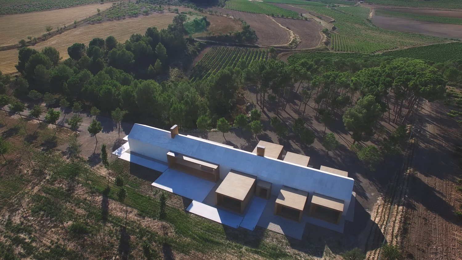 Cottage in the Vineyard by Ramón Esteve Estudio