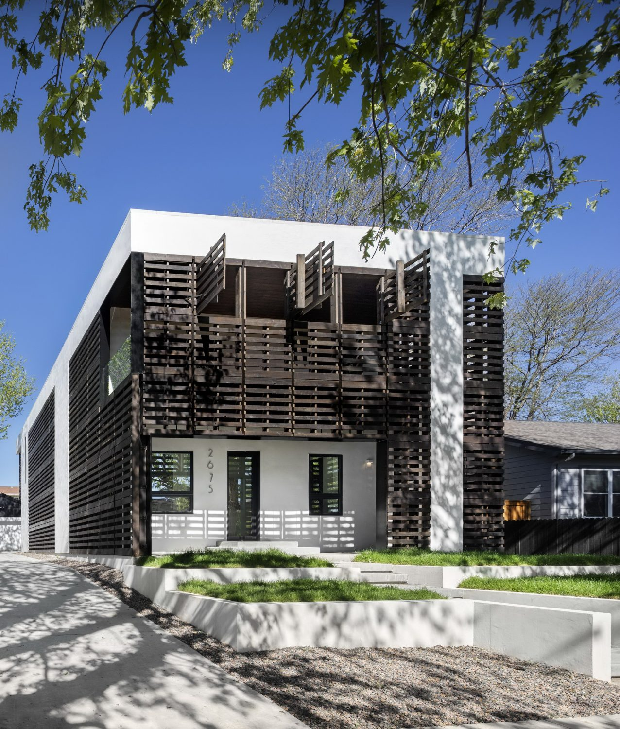 Denver Pallet House by Meridian 105 Architecture