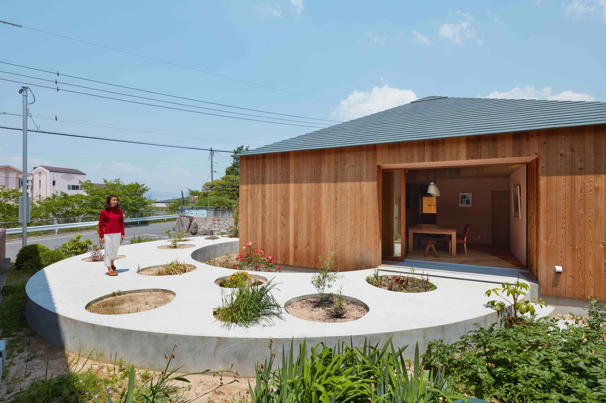 House in Mukainada by FujiwaraMuro Architects