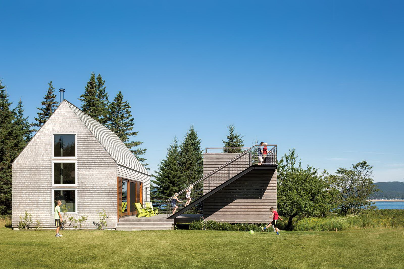 House on an Island by Elliott + Elliott Architecture