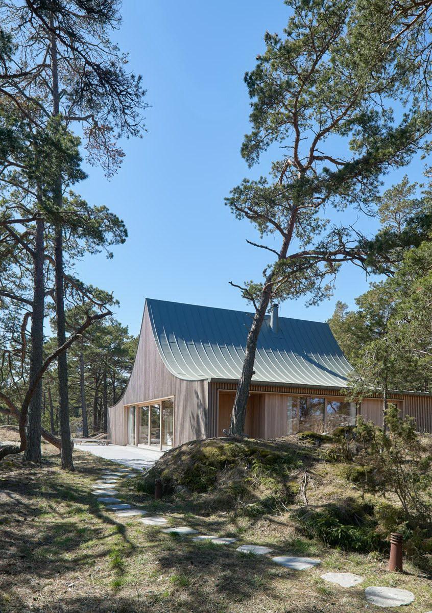 House on Krokholmen – Tent-Like House