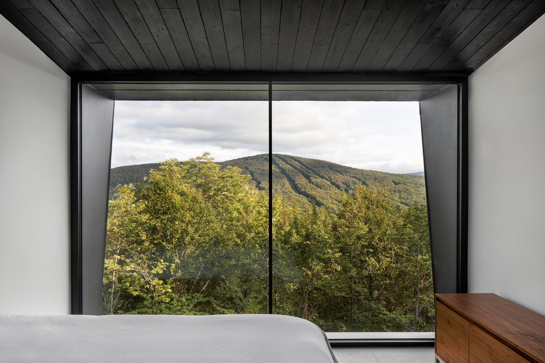 La Binocle – Blackened Wood Cabins by NatureHumaine