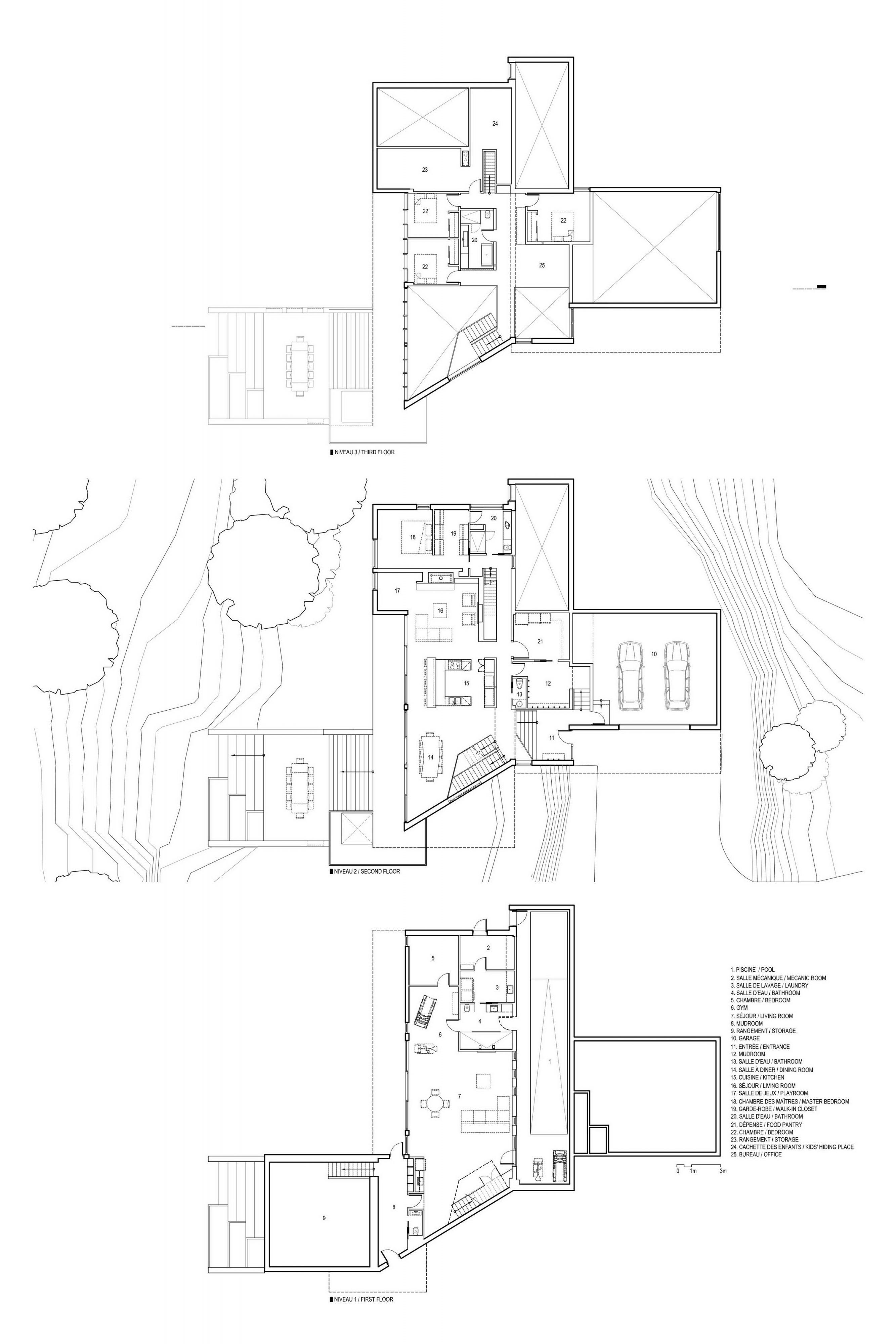 L'Accostée House by Bourgeois / Lechasseur architectes