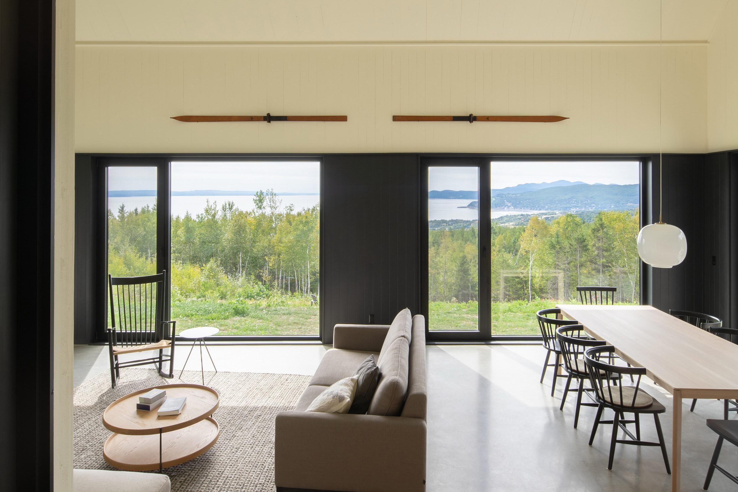 Les Rorquals by Alain Carle Architecte