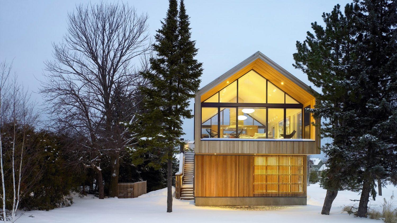 Maison Glissade – Ski Chalet by Akb Architects