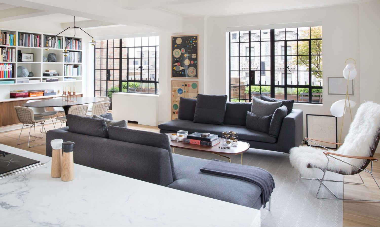 Park Avenue Apartment – 1930s Apartment Conversion by Rottet Studio