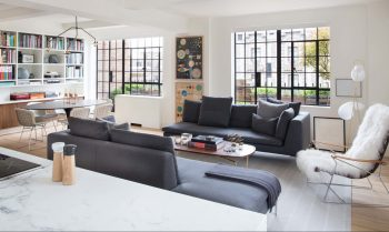 Park Avenue Apartment – 1930s Apartment Conversion by Rottet Studio